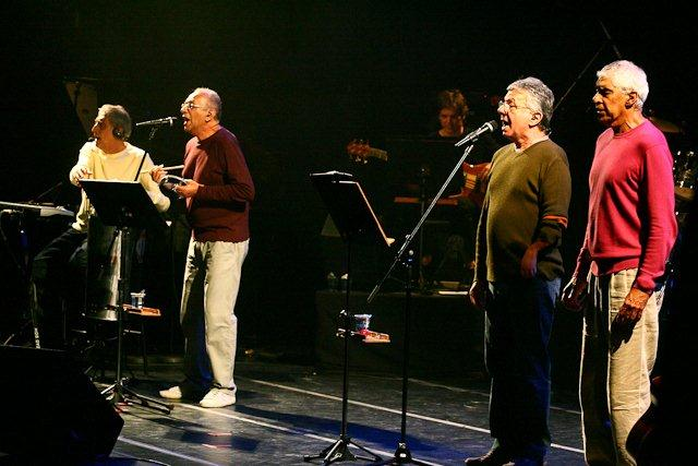 2010 - Musical Dialogues - MPB4 and Jair Rodrigues - Launch of Calls for Proposals (São Paulo)