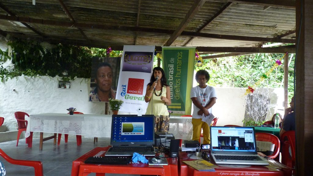 Supported projects are introduced at the Sacopã Quilombo (Rio de Janeiro)