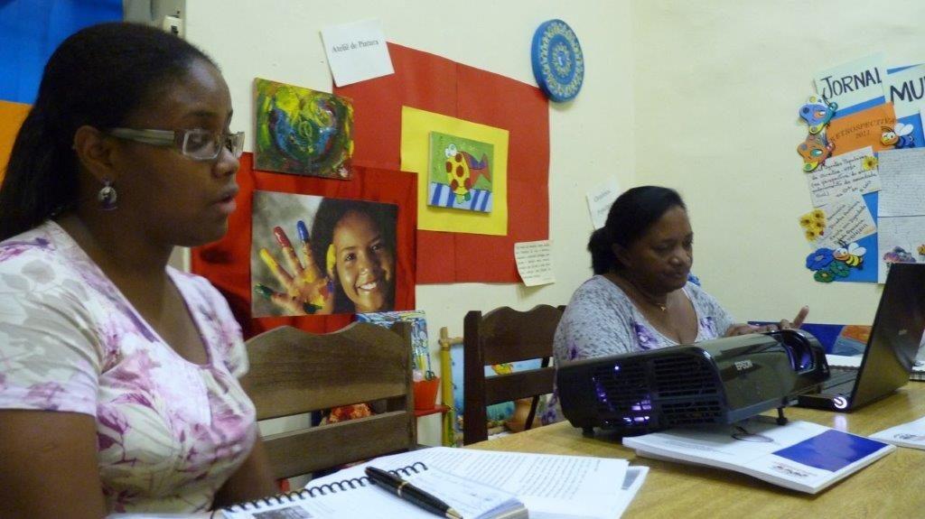 Visita ao Centro de Defesa dos Direitos da Criança e do Adolescente Padre Marcos Passerini, no Maranhão.